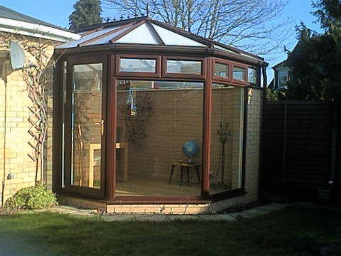 Conservatory Trench Heating