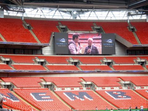 Wembley Stadium Perimeter Inside Wembley Stadium